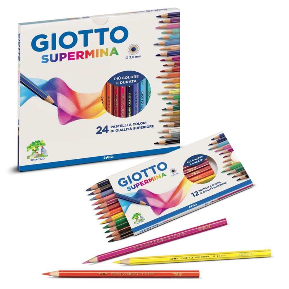 Matite Giotto Supermina composizione colori