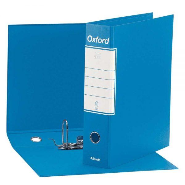 Registratore Oxford Protocollo G85 dorso 8 Azzurro