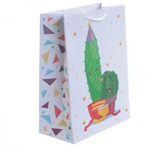 Sacchetto regalo Cactus
