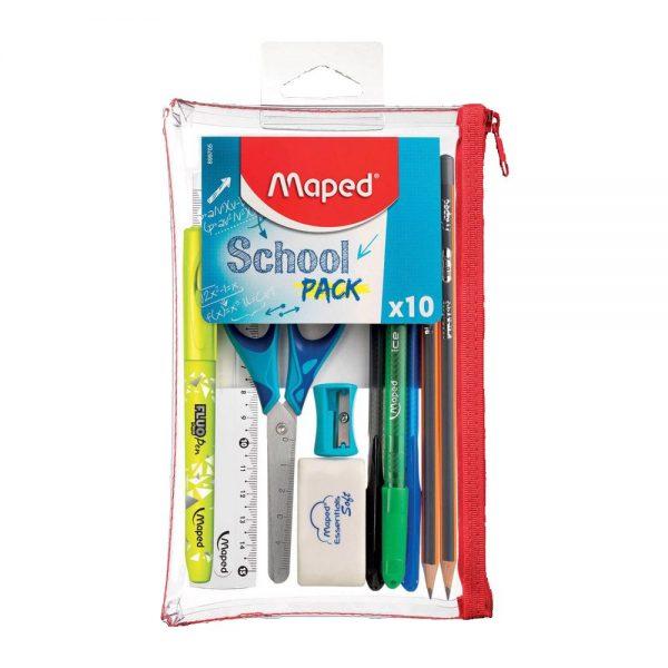 School Pack Maped 10 pezzi