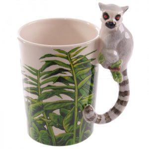 Tazza Decorata - Lemure