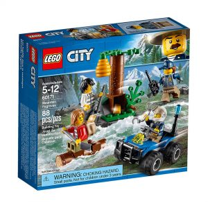 Lego City Polizia Fuga in montagna