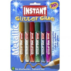 Colla Glitter Glue metallic 6x10,5ml