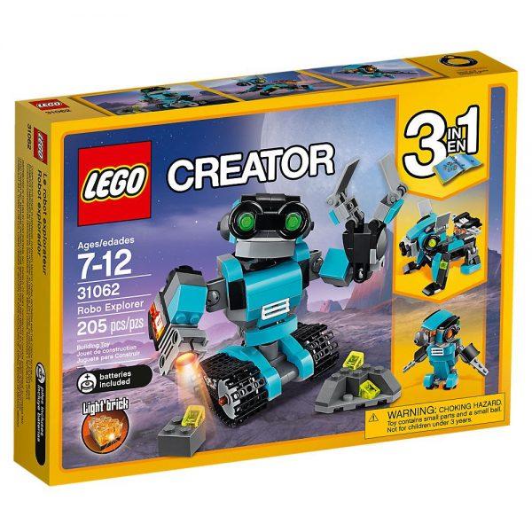 Lego Creator 3in1 Robo-esploratore
