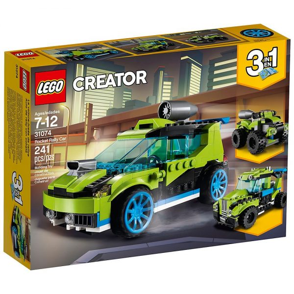 Lego Creator 3in1 Auto da rally Rocket