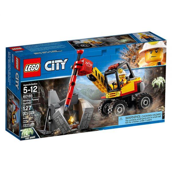 Lego City Spaccaroccia da miniera