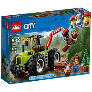 Lego City Trattore forestale