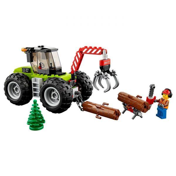 Lego City Trattore forestale