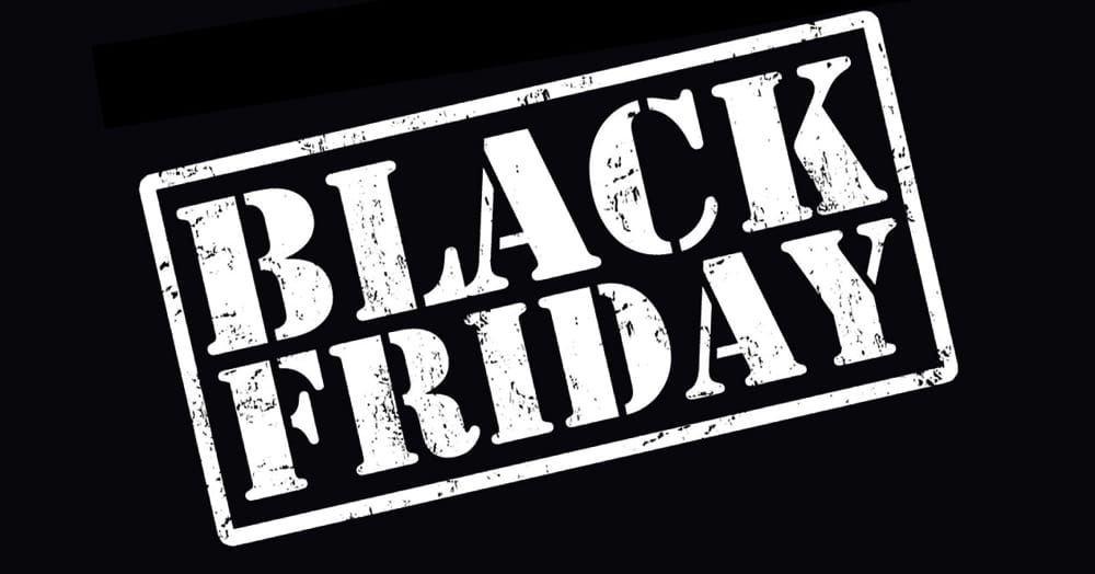 Black Friday 2018: sconti e promozioni esclusivi!