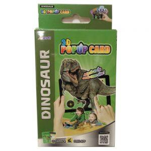 Carte Exploriamo mazzo Dinosauri PopUp