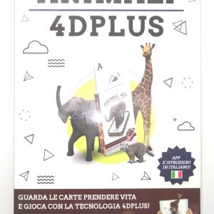Carte Exploriamo mazzo Animali 4D Plus