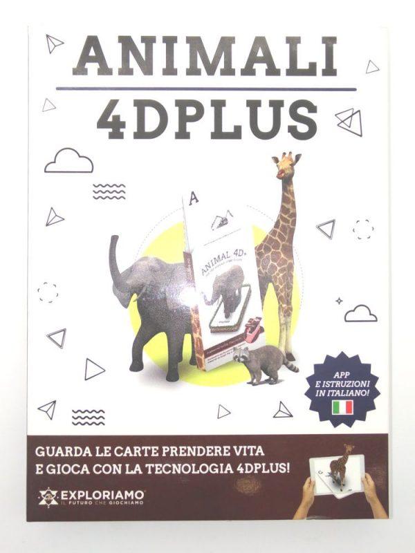 Carte Exploriamo mazzo Animali 4D Plus