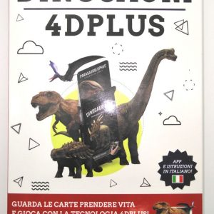 Carte Exploriamo mazzo Dinosauri 4D Plus