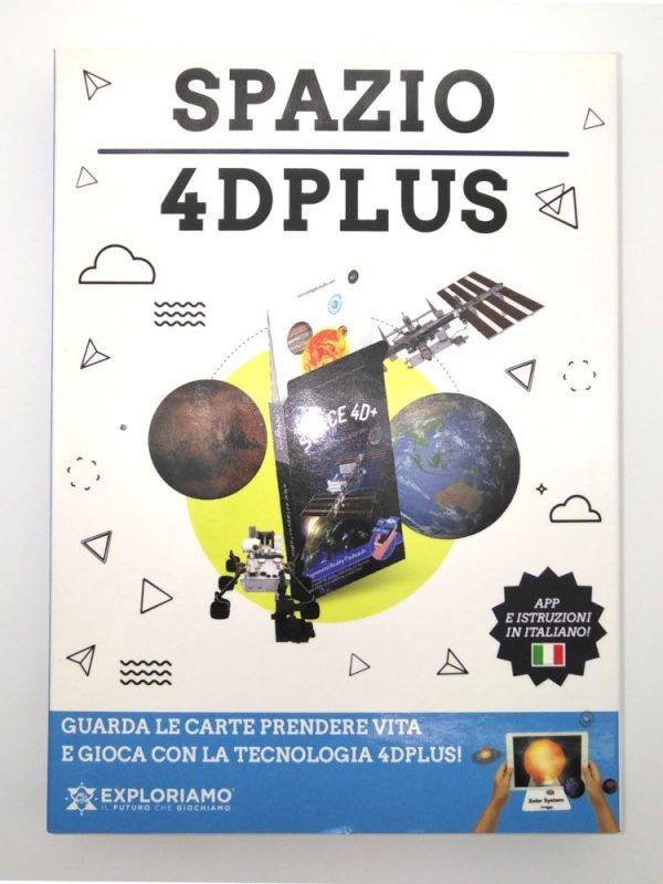 Carte Exploriamo mazzo Spazio 4D Plus